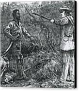 Capture Of Nat Turner, American Rebel Canvas Print