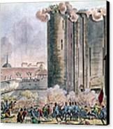 Capture Of The Bastille Canvas Print by Granger
