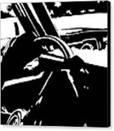 Car Passing Canvas Print