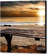 Carcavelos Beach Canvas Print