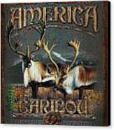 Caribou Canvas Print by JQ Licensing