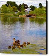 Caring Mother Canvas Print