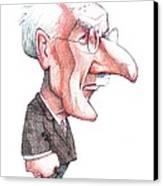 Carl Jung, Caricature Canvas Print
