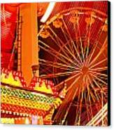 Carnival Lights  Canvas Print by Garry Gay