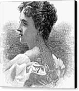Caroline Lavinia Harrison Canvas Print by Granger