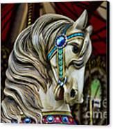 Carousel Horse 3 Canvas Print by Paul Ward