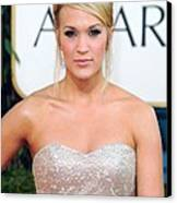 Carrie Underwood At Arrivals For The Canvas Print