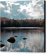 Cary Lake Canvas Print by David Patterson