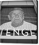 Casey Stengel In Black And White Canvas Print by Rob Hans