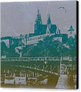 Castillo De Praga Canvas Print