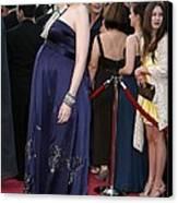 Cate Blanchett Wearing A Dries Van Canvas Print