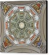 Cathedral Dome Interior, Close Up Canvas Print
