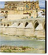 Cathedral Mosque In Cordoba Canvas Print by Artur Bogacki