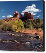 Cathedral Rock Sedona Canvas Print by Joshua House