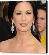 Catherine Zeta-jones Wearing Van Cleef Canvas Print by Everett