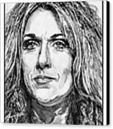 Celine Dion In 2008 Canvas Print by J McCombie