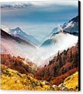 Central Balkan National Park Canvas Print by Evgeni Dinev