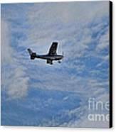 Cessna In Flight Canvas Print by Paul Ward
