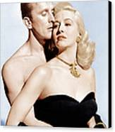 Champion, From Left Kirk Douglas Canvas Print