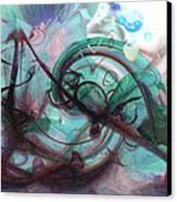 Chaos Canvas Print by Linda Sannuti