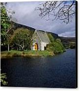 Chapel At Gougane Barra, Co Cork Canvas Print by The Irish Image Collection