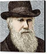 Charles Darwin, British Naturalist Canvas Print by Sheila Terry