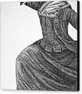Charles Deon De Beaumont Canvas Print