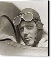 Charles Lindbergh 1902-1974 Wearing Canvas Print by Everett