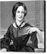 Charlotte Bronte 1816-1855, British Canvas Print by Everett