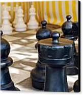 Checkmate Canvas Print by Christina Vodas