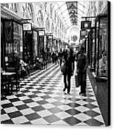 Chequered Canvas Print by Lee Stickels