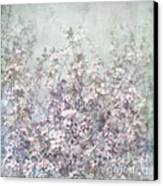 Cherry Blossom Grunge Canvas Print by Paul Grand