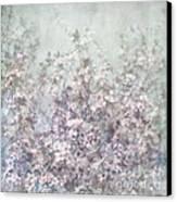 Cherry Blossom Grunge Canvas Print