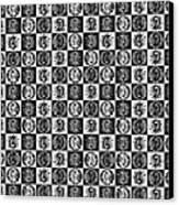 Chess Board Canvas Print