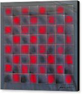 Chessboard 1982 Canvas Print