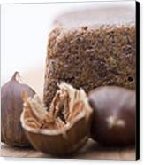 Chestnut Cake Canvas Print by Frank Tschakert