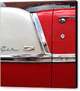 Chevy Belair Classic Trim Canvas Print by Mike McGlothlen