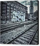 Chicago Rail Station Canvas Print