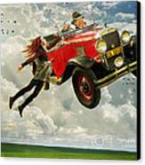 Chitty Chitty Oh No Canvas Print