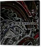 Chopped An Tron'd Canvas Print by Travis Crockart