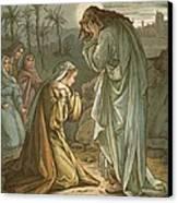 Christ In The Garden Of Gethsemane Canvas Print