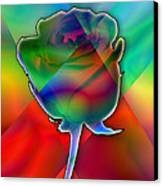 Chromatic Rose Canvas Print