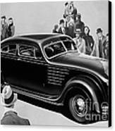 Chrysler Airflow Canvas Print