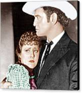 Cimarron, From Left Irene Dunne Canvas Print