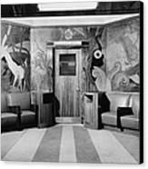 Cincinnati Union Terminal, Linoleum Canvas Print