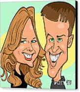 Cindy And Jordan Canvas Print