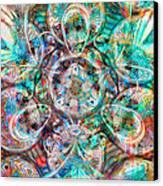 Circles Of Life Canvas Print by Mo T