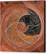 Circular Koin Canvas Print by Jean Noren