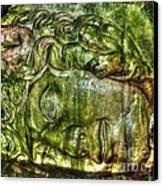 Cistern Medusa Canvas Print by Michael Garyet