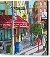 City Corner Canvas Print